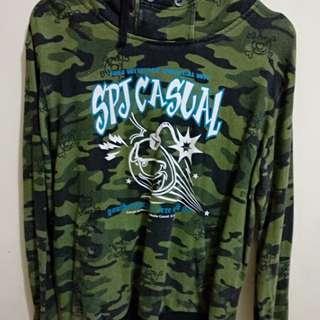 Jaket hoodie spjcasual