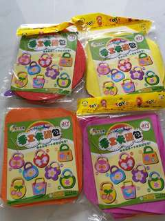 Cartoon bag making set