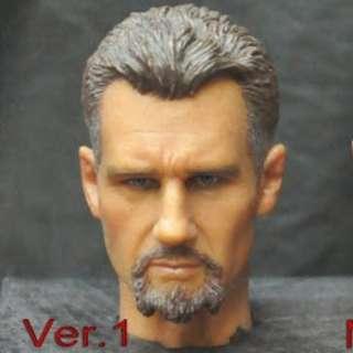 1/6 Batman League of Shadows Master Henri Ducard (Ras Al Ghul) 1/6 head sculpt (not Hot Toys Sideshow)