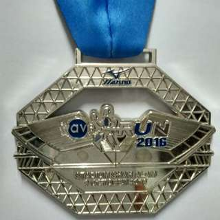 Medal Mizuno Wave Run 2016
