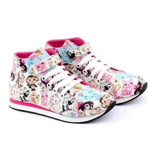 Sepatu sneakers anak perempuan