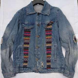 Jaket trucker fashion