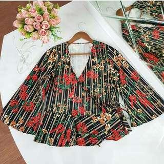 Flower Kimono Top