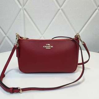 Coach Top Handle Pouch / coach sling bag / coach purse / coach clutch