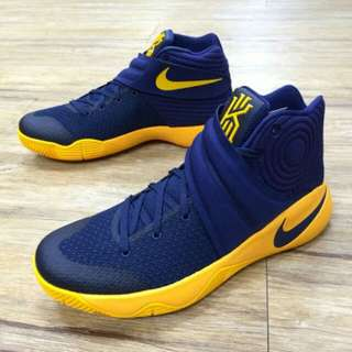kyrie 2 navy yellow