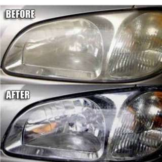 Headlamp Restoration - Headlamp polishing
