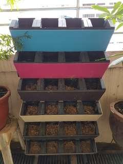 6 tiers x 4 pots vertical garden