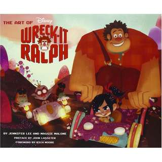 The Art of Wreck-It Ralph (Hardcover book)