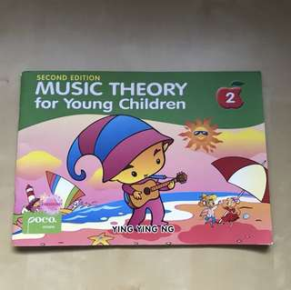 Music 🎶 Theory for Young Children Book 2