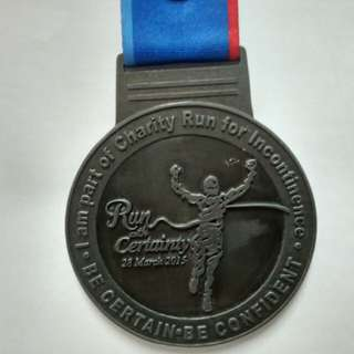 Medal Run With Certainty 2015