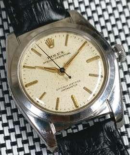 🎉滿天星面🎉 Rolex Bubbleback 2940 古董錶,50年代,原裝面無番寫,螺絲霸的,全密陀自動機芯,已抹油,行走精神,塑膠上蓋,直徑32mm不連霸的,代用皮帶,淨錶$18500,有意pm