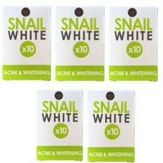 SNAIL WHITE GREEN {for acne and whitening}