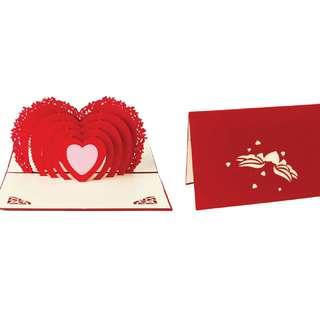 3D-Heart Gift Card ❤ ❤