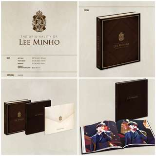 THE ORIGINALITY OF LEE MIN HO DVD : 10TH ANNIVERSARY 2017 TALK CONCERT