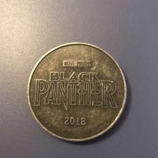 黑豹限量紀念收藏幣$40