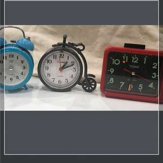 3 Vintage Clocks (all function)