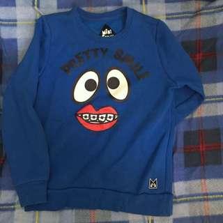 Sale! Mini cream sweater箍牙款