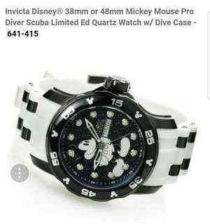 Pre-order Invicta Disney Limited Edition watch