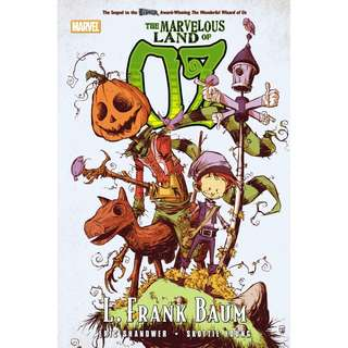The Marvelous World Of Oz (Marvel) By Eric Shanower And Skottie Young - Hardcover comics graphic novels
