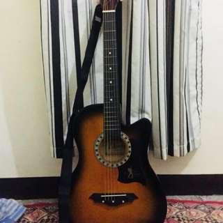Davis Sunburst Guitar