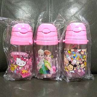 1for$12. 2for$20 Hello Kitty Frozen Tsum Tsum Water Bottle