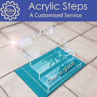 Acrylic Steps - DIY & Customize for Home / Office / School Projects, and more!
