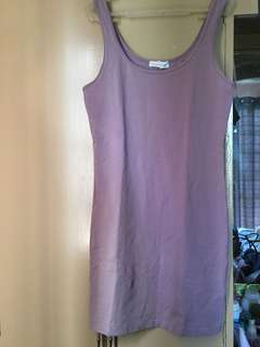 Forever 21 purple fitted dress