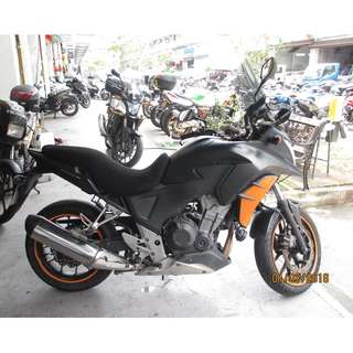 honda cb400x 2014 D/P $500 or $0 With out insurance (Terms and conditions apply. Pls call 67468582 De Xing Motor Pte Ltd Blk 3006 Ubi Road 1 #01-356 S 408700.