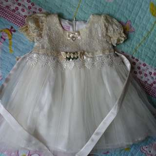 Lovely Lace Baby Dress