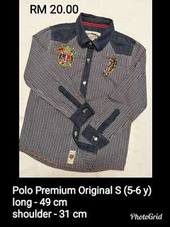 Polo Premium Tops (Kids)