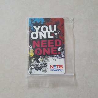 Limited edition nets flashpay card