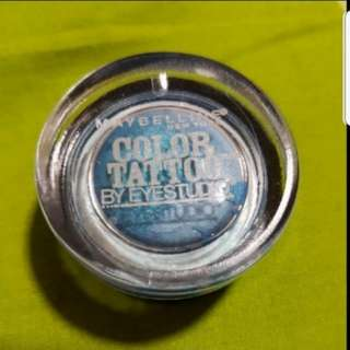 Maybelline Color Tattoo Tenacious Teal 24h Eyeshadow