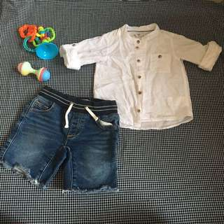 H&M Shirt and Jeans