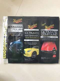 Meguiars - 3 pack brilliant solutions