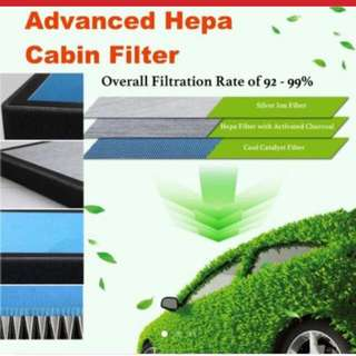 Hepa cabin car filter(Honda, Toyota)