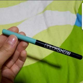 "Maybelline Colorshow Eyeliner ""Oh My Mint"""