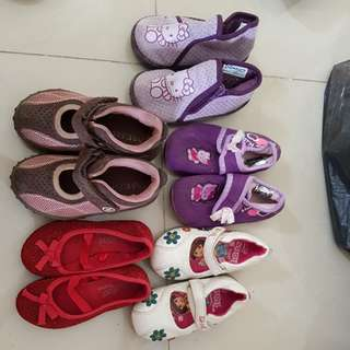 Take-all Preloved shoes sizes 24-26
