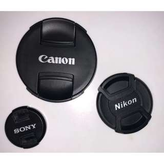 Lens cap (Various sizes available)