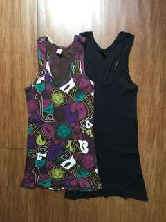 Razor Back Top - 2 Pieces for Php50.00