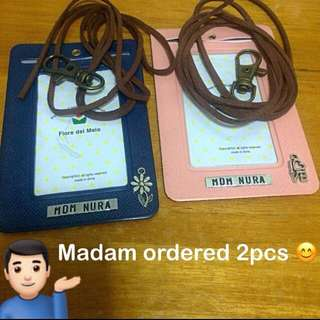 Personalised ID Cardholder / ID Holder c/w Suede Lanyard (polyurethane PU leather saffiano) [faux leather customised gifts handmade uncle.anthony uncle anthony uac ] FOR MORE PICTURES & DETAILS, GO HERE: 👉  http://carousell.com/p/114619474