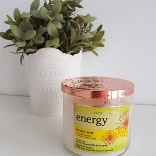 Bath and body works Energy candle 3-wick