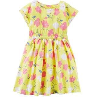 Carter's Cut-Out Back Floral Dress