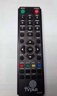 tv plus remote/power supply