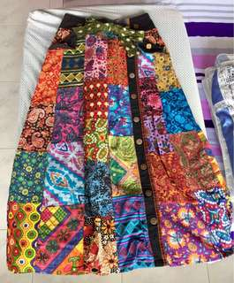 Handmade Peranakan Ladies Long Skirt
