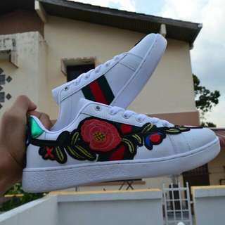GUCCI FLORAL EMBROIDERY