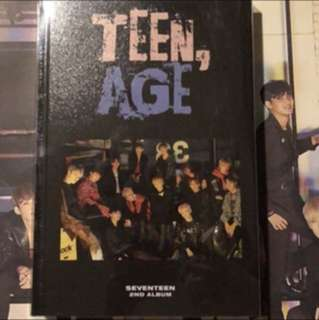 Seventeen Teen,Age RS version with poster (Onhand)