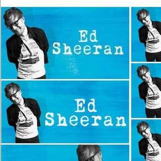 1 Ed Sheeran Ticket