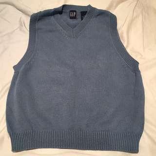 GAP Women's Blue Vest