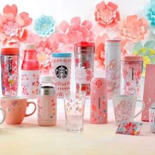 2018 日本限定 starbucks 櫻花杯