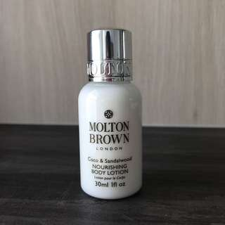 BN Molton Brown London Nourishing Body Lotion